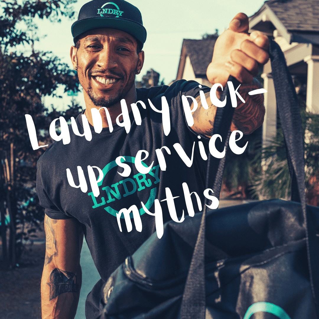 4 Myths About Using a Pick-Up Laundry Service