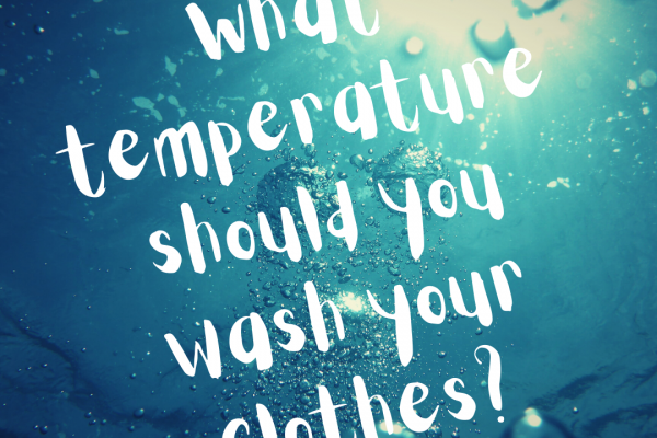 What's the Best Temperature to Wash Clothes?